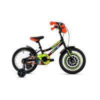 2191603260_001w Bicicleta copii DHS, 16 inch, negru