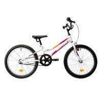 2192011291_001w Bicicleta copii DHS Venture 2011, 20 inch, Alb-Roz