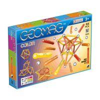 GEOM262_001 Joc de constructie magnetic Geomag - Color 64 piese