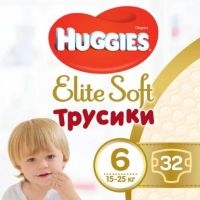 9401489 Scutece Huggies Chilotel Elite Soft Pants Mega, nr 6, 15-25 kg, 32 buc