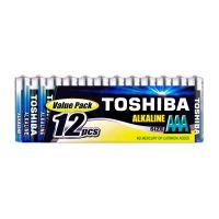 4904530589348_001 Set 12 baterii alcaline Toshiba R3 AAA