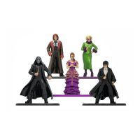 253180003_001w Set 5 Figurine din metal Harry Potter, 6 cm