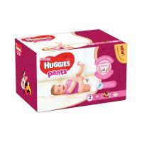 2558011_001w Scutece Huggies Pants Box Girls, Nr 3, 6 - 11 Kg, 88 buc