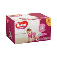 2558031_001w Scutece Huggies Pants Box Girls, Nr 4, 9 - 14 Kg, 72 buc