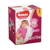 2558071_001w Scutece Huggies Pants Box Girls, Nr 6, 15 - 25 Kg, 60 buc