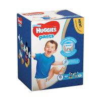 2558081_001w Scutece Huggies Pants Box Boys, Nr 6, 15 - 25 Kg, 60 buc