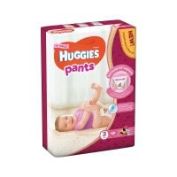 2558191_001w Scutece Huggies Mega Pants Girls, Nr 3, 6 - 11 Kg, 58 buc