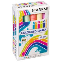 262683_001w Set creta colorata Starpak, 5 culori, 10 bucati
