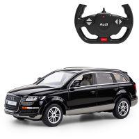 27400_2018 Negru Masinuta cu telecomanda Rastar Audi Q7, Negru, 1:14