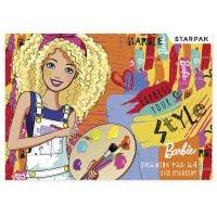 279562_001w Bloc de desen cu 20 coli A4 Starpak, Barbie
