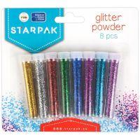 283295_001w Pudra cu sclipici Starpak, 8 culori