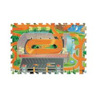 30746_001w Set masinuta si covoras Hot Wheels, 6 piese