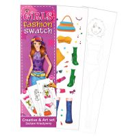311102_001w Set de creatie Girls Fashion Starpak, 7 x 24 cm