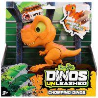 31127 portocaliu Jucarie interactiva Dino Unleashed Chomping, Portocaliu