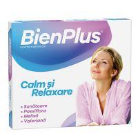 Bien Plus Calm si Relaxare, 10 capsule