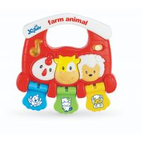 316675_001w Jucarie bebelusi BamBam, Zornaitoare muzicala cu animalute