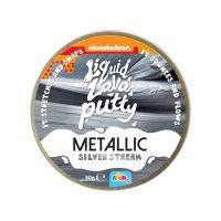 318-20102-N_002w Pasta modelatoare Nickelodeon Lava Putty, Metallic Silver