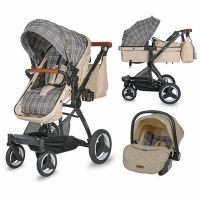 320060944_001 Carucior transformabil 3 in 1 Ambra Coccolle, Safari Beige