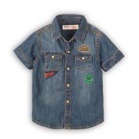 3201056 Camasa jeans cu maneca scurta Minoti Roar
