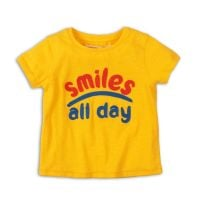 3201258 Tricou cu maneca scurta Minoti Girl Smiles All Day