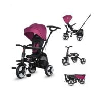 321013550_001 Tricicleta ultrapliabila, DHS Baby, Coccolle Spectra Plus, Magenta