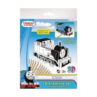 321793_001w Set creativ 3D cu 12 creioane colorate Starpak, Thomas and friends