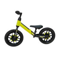 321QPSPA80_001 Bicicleta fara pedale DHS Baby Qplay Spark, Verde, 12 inch