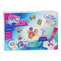 323-20_001w Acvariu cu lumini si figurine de modelat AquaDabra, Crazy Monsters