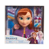 Papusa Anna Frozen 2, Styling Head - Manechin pentru coafat cu accesorii incluse
