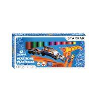 337501_001w Set de modelare cu 12 culori Starpak, Hot Wheels