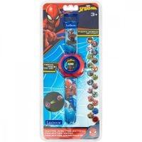 3380743085807 DMW050SP_001w Ceas digital, Lexibook, Spider-Man, cu proiector