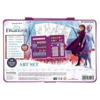 342855_001w Trusa artistului Disney Frozen II cu acuarele si culori, 68 buc