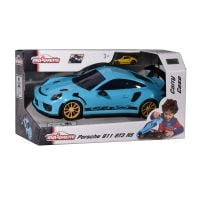 3467452056301 212058194 albastru Porsche 911 Gt3, Majorette, cu sunet original si lumini