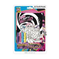 350363_001w Set jurnal cu cheita si carioci Starpak, Barbie