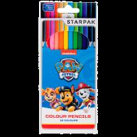 352911_001w Set creioane colorate Paw Patrol, 12 culori