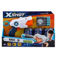 36119 TK 3_001 Set blaster Zuru X-Shot Tek 3 cu proiectile si tinte