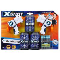 3621_001 Set pistoale X-Shot Micro cu 8 Sageti si 3 Cutii