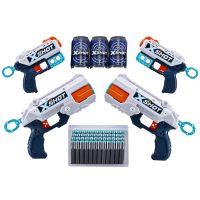36234_001w Set Blaster X-Shot Combo Pack, 2 Reflex + 2 Kickback