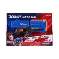 36282_001w Pistol X-Shot Chaos Meteor cu 12 gloante din spuma
