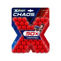 36327_001w Rezerva proiectile 50 de bucati, X-Shot Chaos