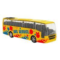 36549 Autobuz din metal cu sunete si lumini Globo, Galben