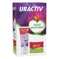 Intimate Wash gel, 75 ml, + servetele Uractiv, Uractiv Forte