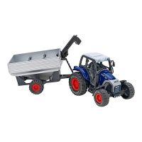 36967 Tractor Globo Spidko Farm World, Albastru