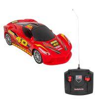 39566_002w Masinuta cu telecomanda Globo Racing Car, Rosu