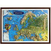 3DGHECP430-RN_001w Harta Europei pentru copii Eurodidactica 3D
