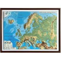 3DGHEF430-M-RN_001w Harta fizica si politica a Europei Eurodidactica 3D