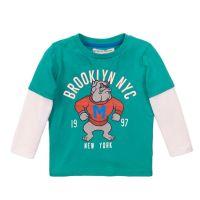 20203226 Tricou cu maneca lunga si imprimeu frontal Brooklyn NYC Minoti 3Toddtee