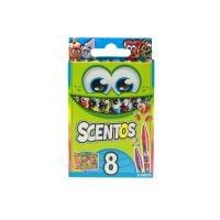 40279_001w Set 8 creioane cerate parfumate Scentos, multicolor