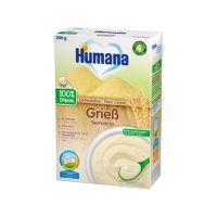 77552_001w Cereale ECO, gris fara lapte Humana, 200 g, 4 luni+