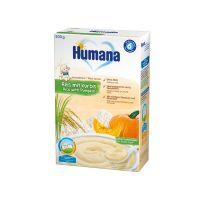 77568_001w Cereale fara lapte Humana Orez cu dovleac, 200 g, 6 luni+